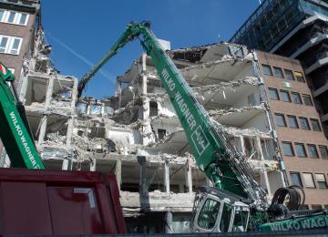 Vorsetzen Entkernung Abbruch Hamburg