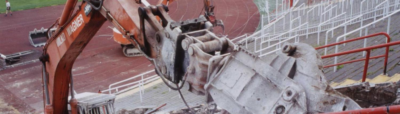 WIWA HSV Volksparkstadion Abriss